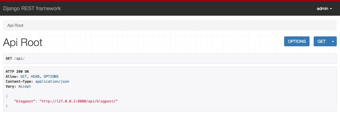 Django REST Framework列表